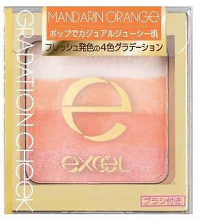 エクセル グラデーションチーク N GC04 マンダリンオレンジ (642595)