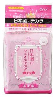 菊正宗 日本酒のフェイスマスク 高保湿 32枚入 (644711)