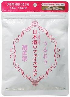 菊正宗 日本酒のフェイスマスク 7枚入 (644712)