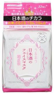 菊正宗 日本酒のフェイスマスク 32枚入 (644714)