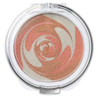 チークカラー マーブルタイプ・オレンジ 無印良品 (645613)