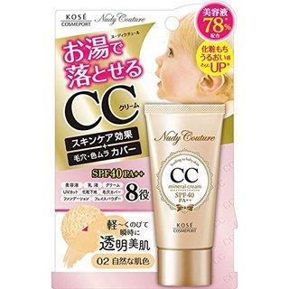 コーセー ヌーディクチュール ミネラル CCクリーム 02 自然な肌色 (648019)