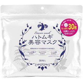 ハトムギ 美容マスク フェイスパック たっぷり 30枚入り(セール価格) (652574)