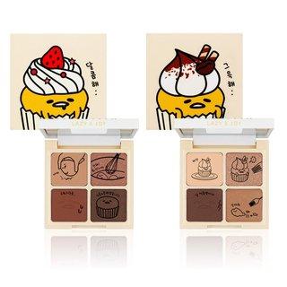 HOLIKA HOLIKA(ホリカホリカ) ぐでたま LAZY&JOYシリーズ カップケーキ  アイシャドウパレット 2種 (659182)