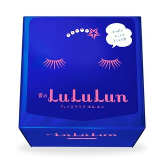 青のルルルン 32枚入り(もっちり高保湿タイプ) | LULULUN(ルルルン) (665631)