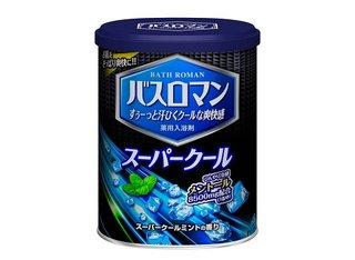 スーパークール 850g 【入浴剤】 | バスロマン (674902)
