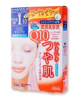 クリアターン ホワイト マスク Q10 c (コエンザイムQ10) 5回分 (702774)