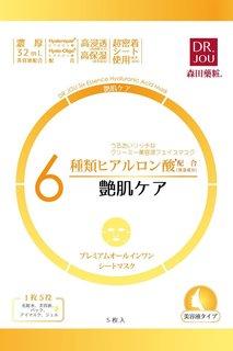 Dr.JOU 6種ヒアルロン酸プレミアムオールインワンマスク 艶肌ケア 5枚 (702779)