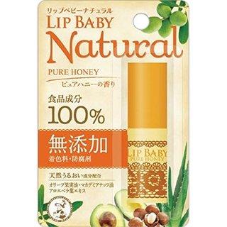 メンソレータム リップベビーナチュラル ピュアハニーの香り (717104)