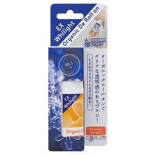 【made of Organics】DE ロールオン EX ホワイライト フレッシュシトラス (734411)