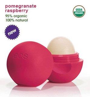 卵型リップバーム *ポメグラント ラズベリーの香り | eos (734856)