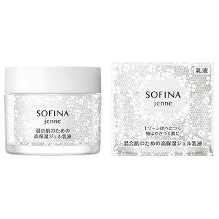 ソフィーナ ジェンヌ 混合肌のための高保湿ジェル乳液 (737119)