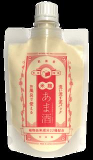 洗い流す泥パック あま酒 (740511)