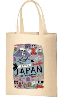 KIEHLS LOVES JAPAN 10周年限定トートバッグ|キールズ (760558)
