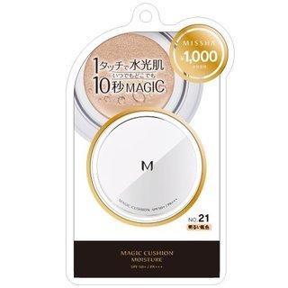 ミシャ Мクッションファンデーション(モイスチャー) No.21 明るい肌色 (762129)