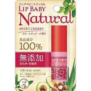 メンソレータム リップベビーナチュラル スイートチェリーの香り (770536)