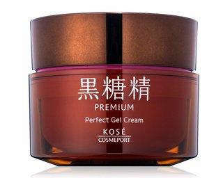 KOSE 黒糖精 プレミアム パーフェクト ジェルクリーム 超 濃厚保湿 オールインワン ジェル (788661)