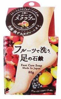 フルーツで洗う足の石鹸 80g | ペリカン石鹸 (789735)