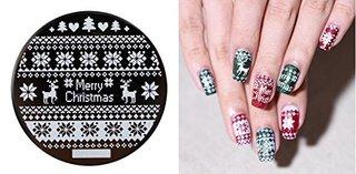 ネイルアート スタンプイメージ メタルプレート クリスマス | Stickercollection.net (789862)