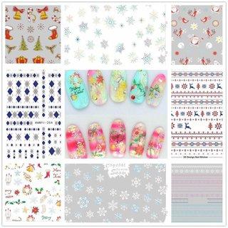 クリスマス3Dシール 8枚セット | Cattie Girl (789885)