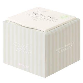 クオリティファースト オールインワンシートマスク ホワイトEX (30枚) BOX (804179)