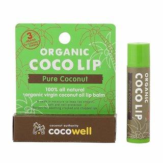 【ココウェル】オーガニック「ココリップ」 「ピュアココナッツ」の香り (809363)