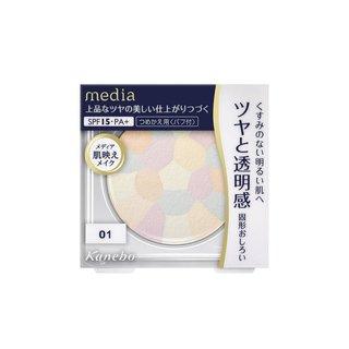 カネボウ メディア ブライトアップパウダー 01(クリア) (819161)