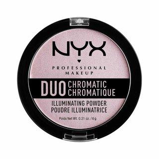 NYX(ニックス) デュオクロマティック イルミネイティング パウダー 02 カラーラベンダー スティール (848812)