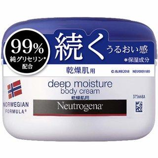 Neutrogena(ニュートロジーナ) ノルウェーフォーミュラ ディープモイスチャー ボディクリーム 乾燥肌用 (856685)