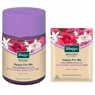 クナイプ バスソルト ハッピーフォーミー ロータス&ジャスミンの香り (874641)