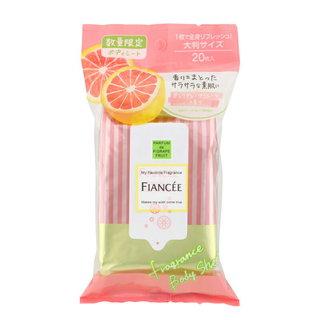 フィアンセ フレグランスボディシート ピンクグレープフルーツの香り (877438)