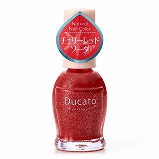 【限定】デュカート ナチュラルネイルカラー N  105 チェリーレッドソーダ (892238)