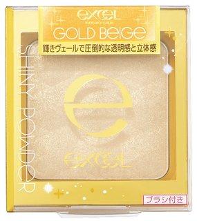 エクセル シャイニーパウダー N SN02 ゴールドベージュ (892306)
