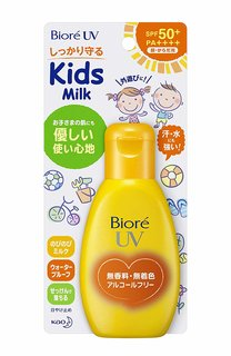 ビオレ UV のびのびキッズミルク SPF50+/PA++++ (892329)