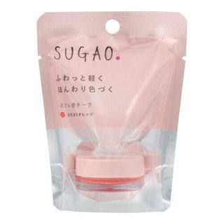 SUGAO(スガオ) スフレ感チーク ひだまりオレンジ (908025)