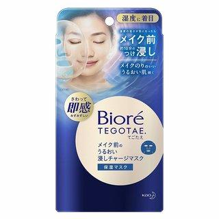 メイク前のうるおい浸しチャージマスク | ビオレTEGOTAE(テゴタエ) (935509)