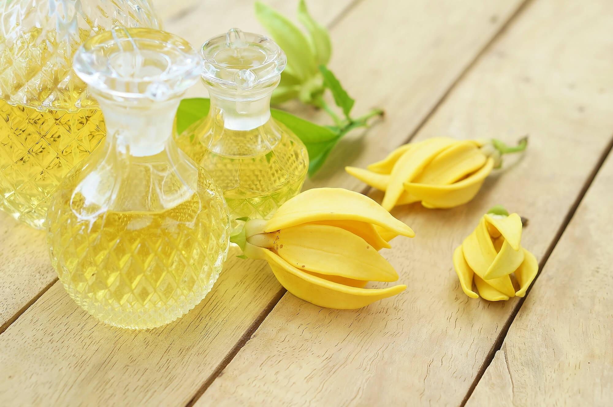 イランイランの香水で女性らしさを高めよう。香りの特徴、効果