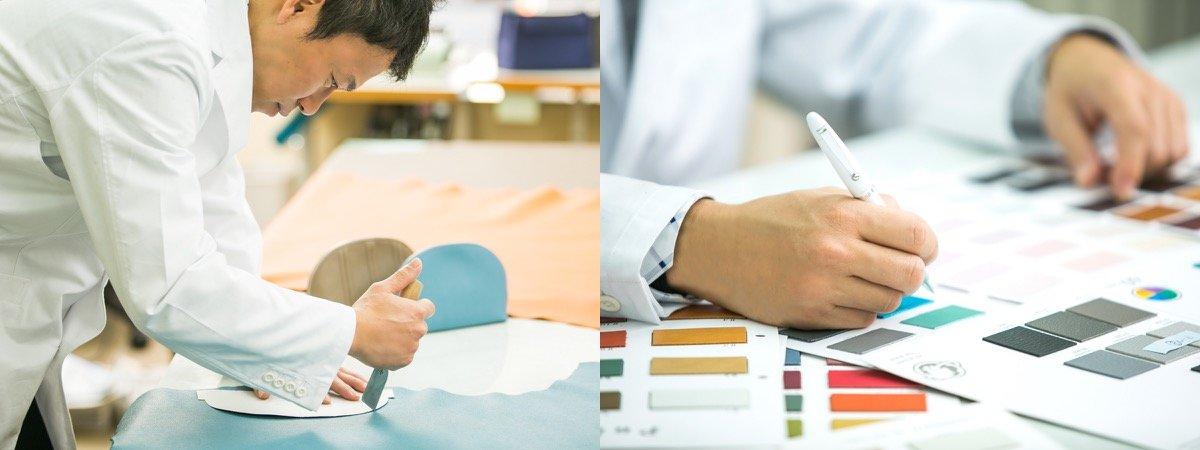 メゾンレクシア 革製品の開発画像