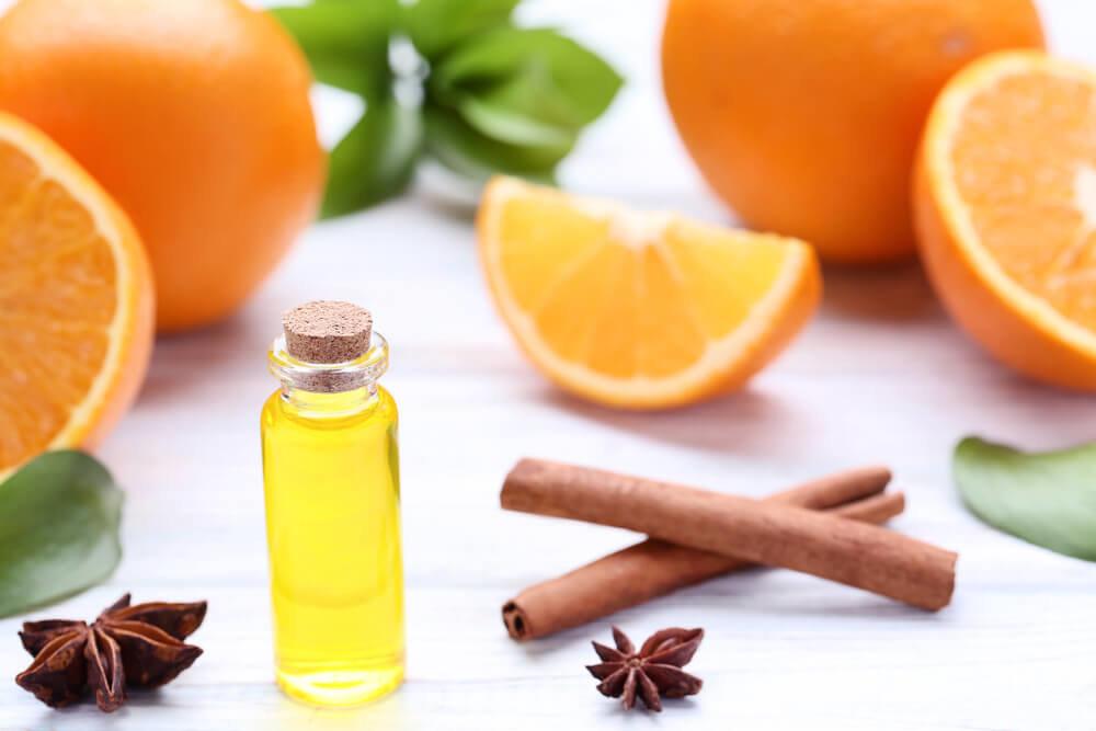 オレンジから抽出された香水