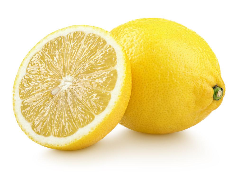 レモンと断面