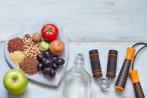 健康的な食品 水分