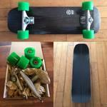 自分だけのオリジナルサーフスケートボード、サーフィンの陸上トレーニング用スケートボード!