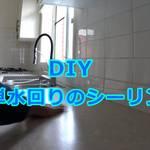 DIY 超簡単!水回りのシーリング!