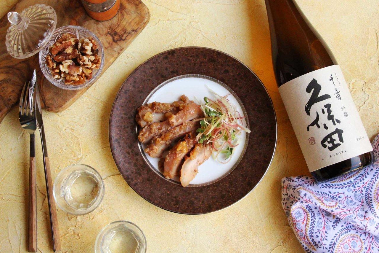 日本酒をもっと楽しむおつまみレシピ|醤油糀のチキングリル