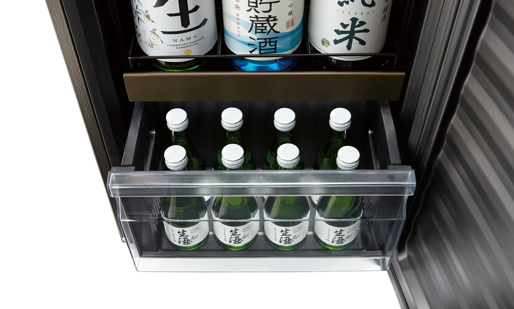 日本酒は冷蔵庫で保存を。おすすめ日本酒セラーも紹介