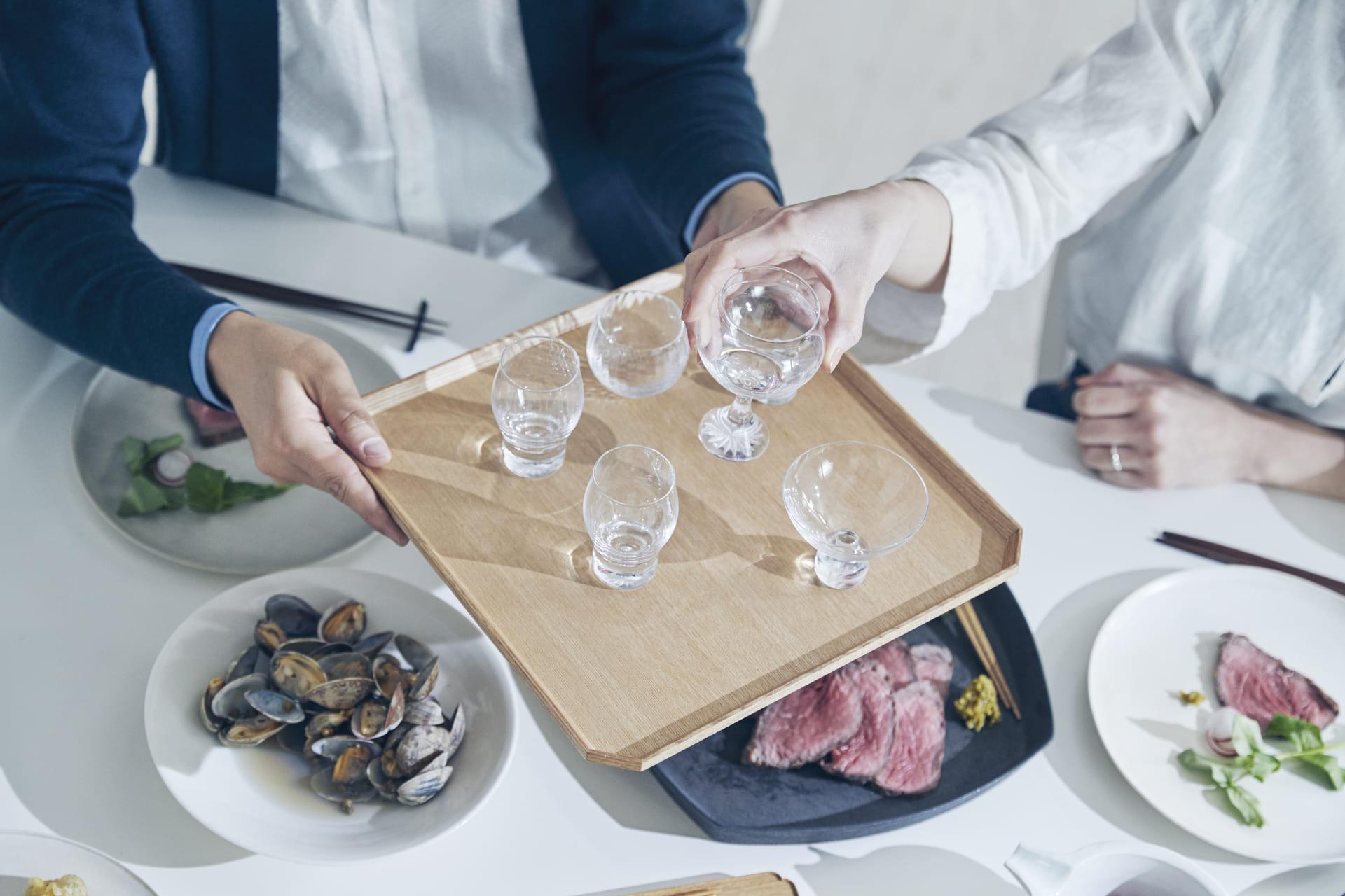 日本酒を飲むなら酒器にもこだわりを。種類や味わいの違い