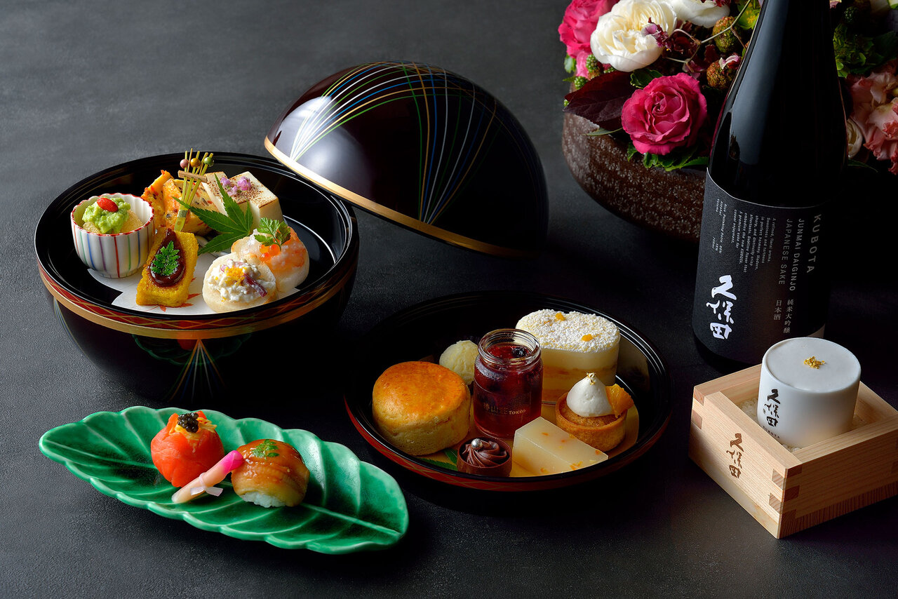 ホテル椿山荘東京で楽しむ、日本酒香る和のアフタヌーンティー