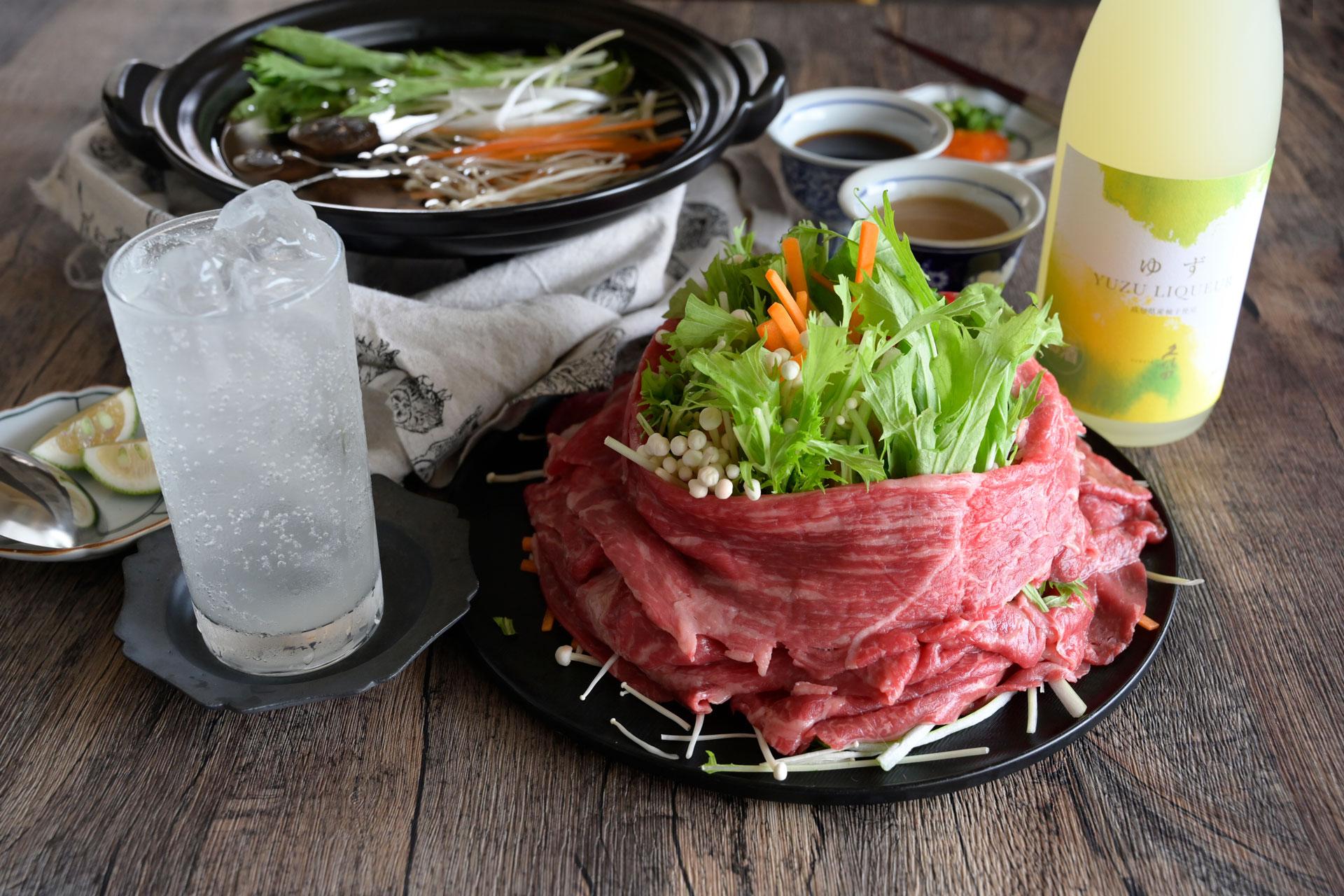 おうちで簡単!本格お鍋レシピ|牛しゃぶ