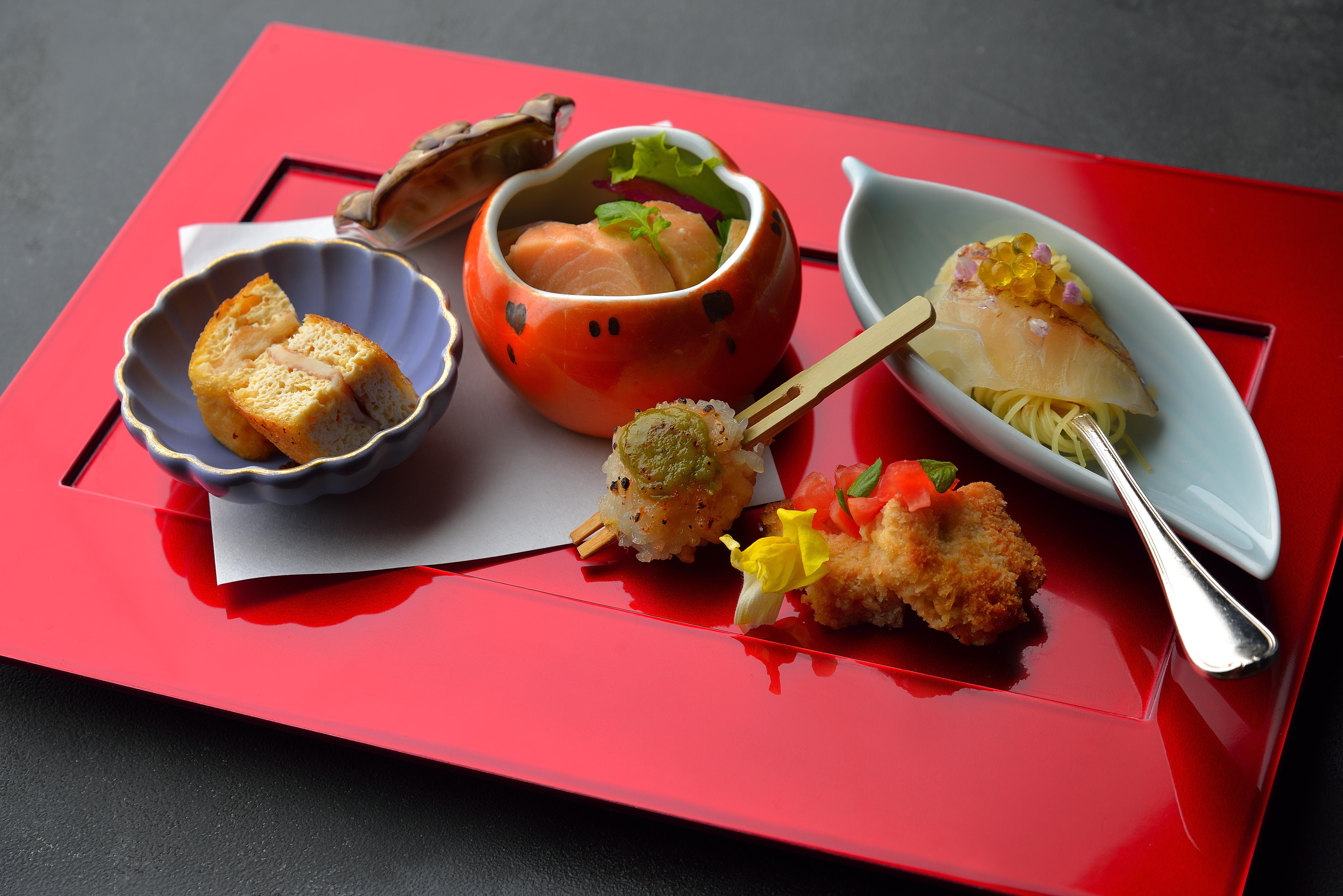 ホテル椿山荘東京×久保田が送る、一夜限りの和と伊のペアリングディナー