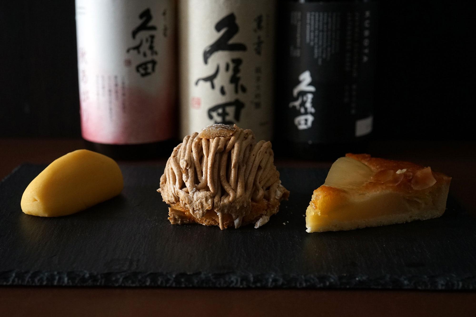 秋の夜長に味わいたい、秋のスイーツと日本酒ペアリング